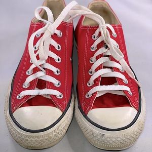 Red Converse Chuck Taylor All Star Sneakers